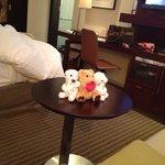 誕生日プランのクマ