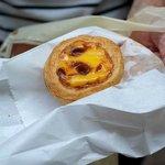 Португальское яичное пирожное