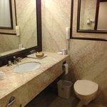 Bathrooms were neat ans clean.