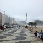 Half block away from Copacabana/Leme
