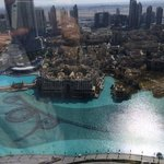 Dubai mall & Fountain view