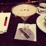 nothing better than an espresso martini for dessert!