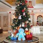 Christmas Tree InThe Hotel Lobby
