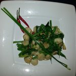 Scallops with longbeans