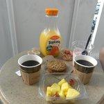 Завтрак на балкончике