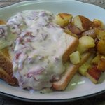 Creamed chipped beef - yummy in my tummy!!