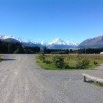 Mount Cook seen from Glentanner
