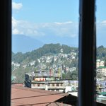 View of mountains from bedroom