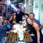 Cena de veranito en la terraza de Enredo bar