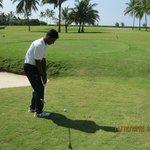 Johnson the golf pro/coach.