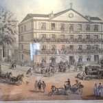 L'hôtel romantique vers 1840