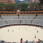 bull fighters in training….playing soccer
