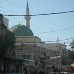 The Green Dome of the Al Jazzar Mosque