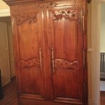 a gorgeous antique wardrobe
