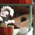 her homemade jam that you get at breakfast, she also sells