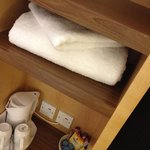Spare towels