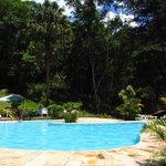 Ótima piscina externa