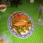 Krabi crab with curry spices