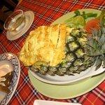 Sea food pineapple rice