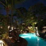ラグーンプール夜景