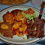 Steak and Enchilada Special