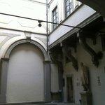 Casa Buonarroti a Firenze, Cortile