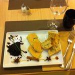 le foie gras poires aux vin d'épices