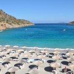 Daios Cove - la plage
