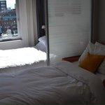queen studio with extra sofa bed