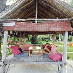 Breakfast beach hut