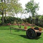 Jardines A Cobacha - Detalle carro