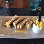 Sandwich snacké au Tides, excellent !
