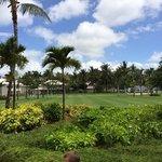 Jardins de l'hôtel, très bien entretenus
