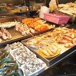Crevettes pas grises