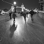 Fun with shadows near the Tower Bridge