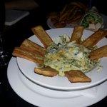 Artichoke and Spinach Dip - piping hot