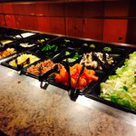 The awesome salad bar