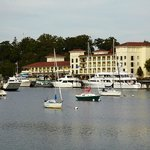 Located on the waterfront in Greenwich, CT