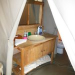 bath room mara camp