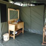 bath room bush camp