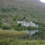 Kylemore Abbey from parking lot