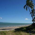 Vista deslumbrante da praia Patacho
