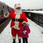 Santa at Broomhill