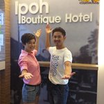Golden Award Best Actor & Actress, Coby Chong & Yeo Yann Yann @ Ipoh Boutique Hotel