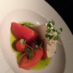 Tomato and Goat Cheese Salad
