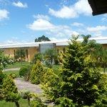 vista da varanda da pousada raízes da villa valduga