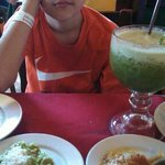 Birthday boy in Valladolid Authentic Mexican place