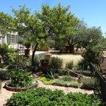 Gartenbereich Comfrey Cottage