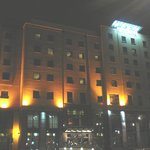 Derry City Hotel at Night