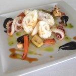 calamar rizado